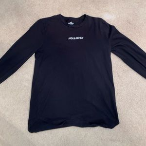 Black hollister long sleeve